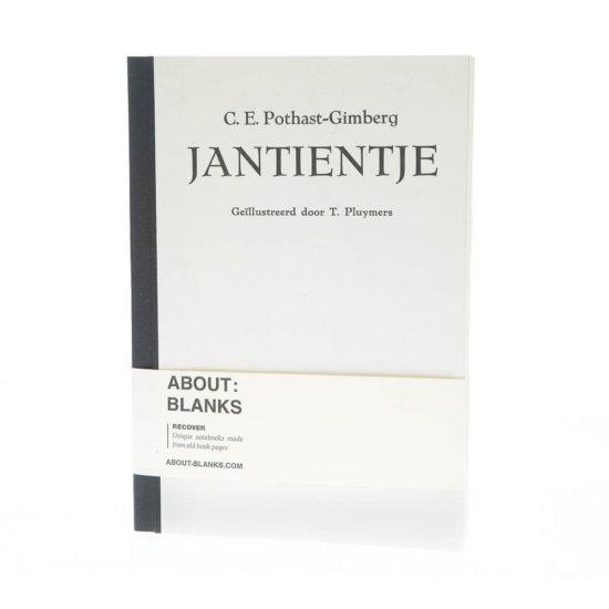 Jantientje notebook (a5)