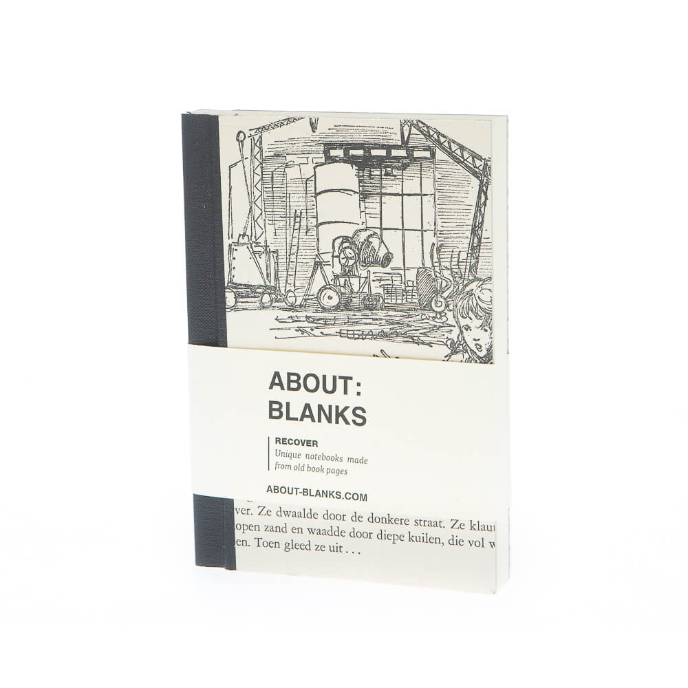 Bouwplaats notitieboek (A6)