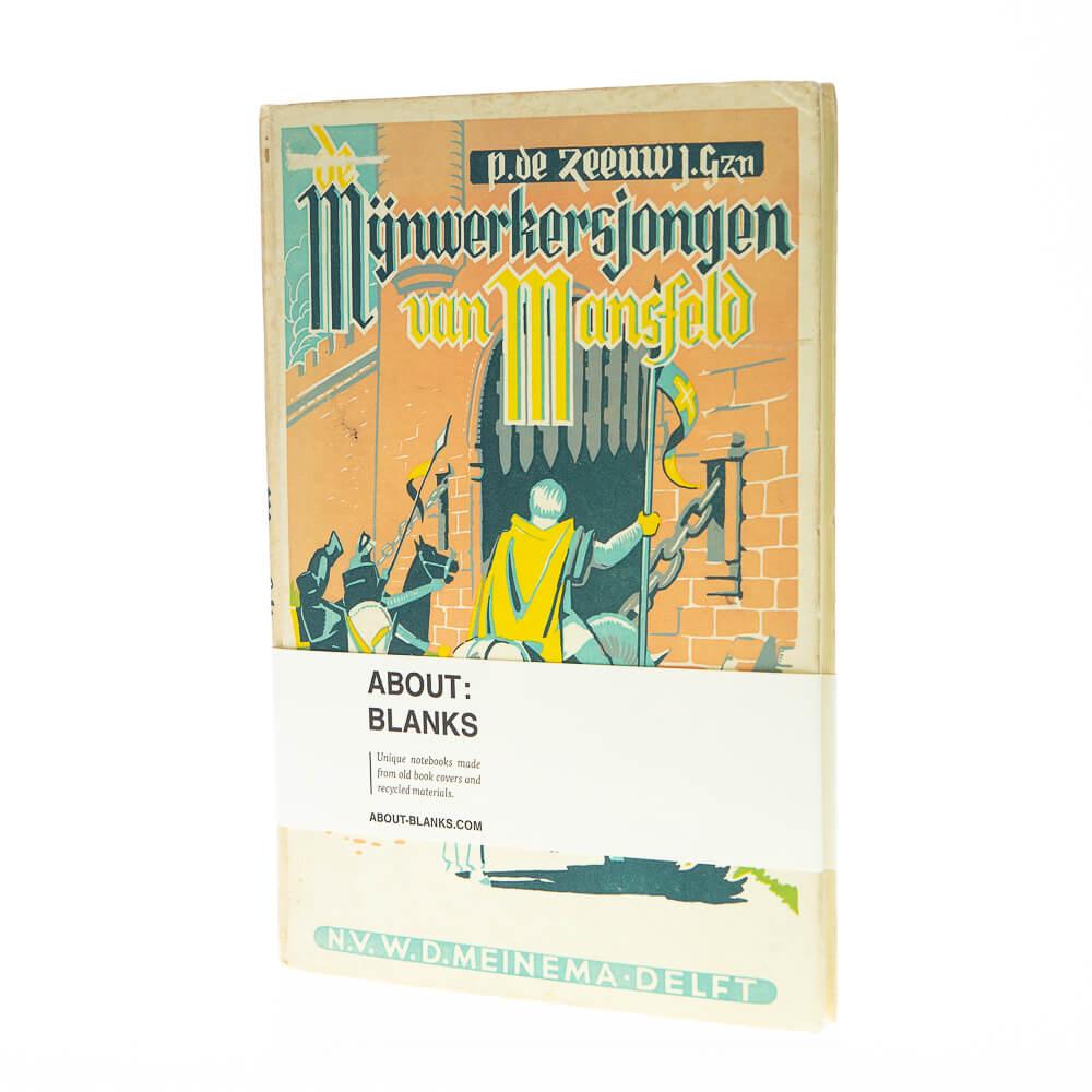 Mijnwerker notitieboek