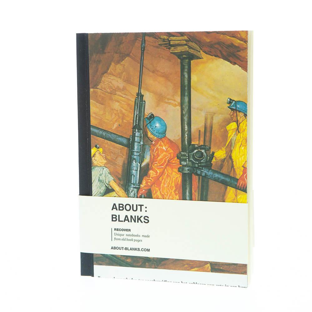Mijnwerk notitieboek (a5)