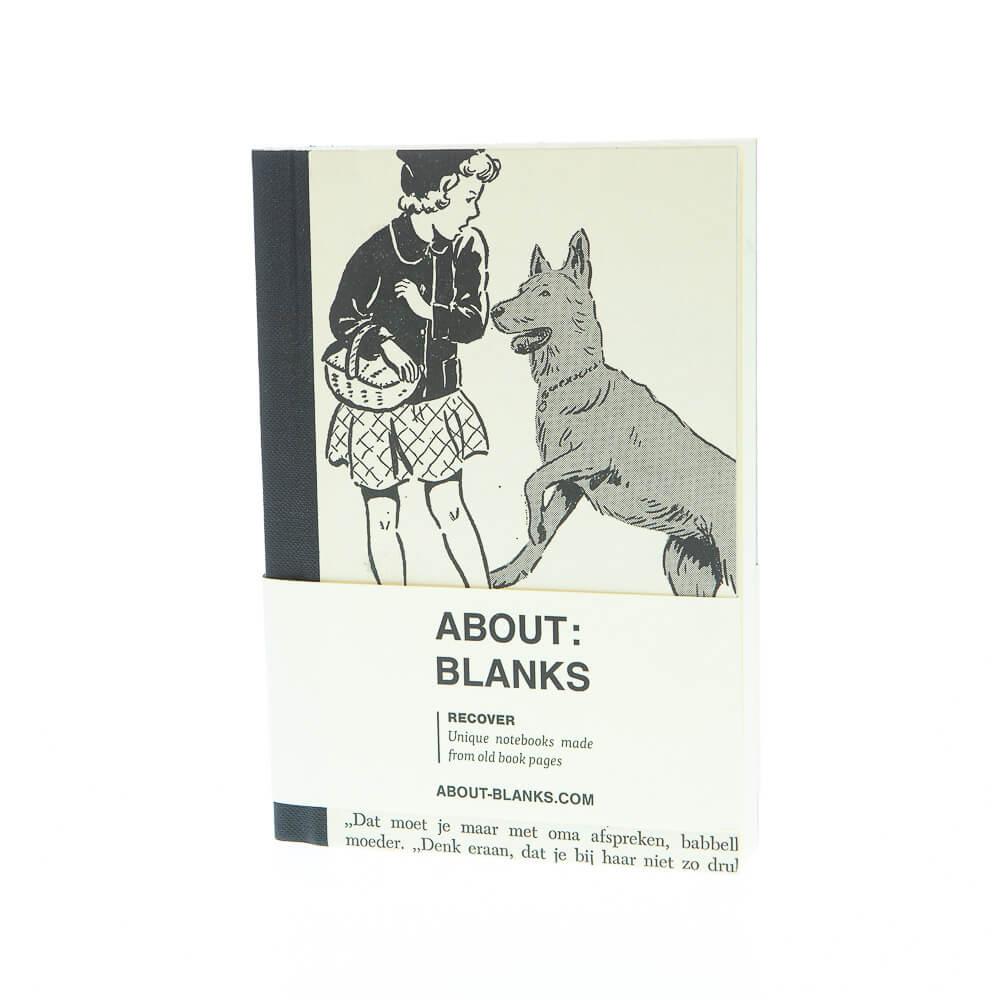 Grote hond notitieboek (a6)