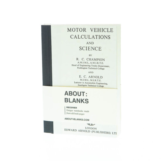 Vehicle notebook (a6)