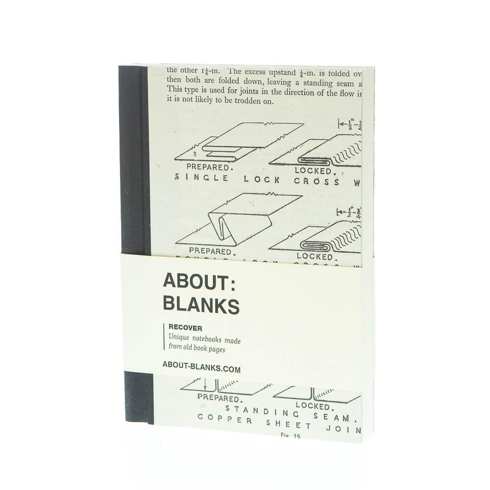 Plaat notitieboek (a6)
