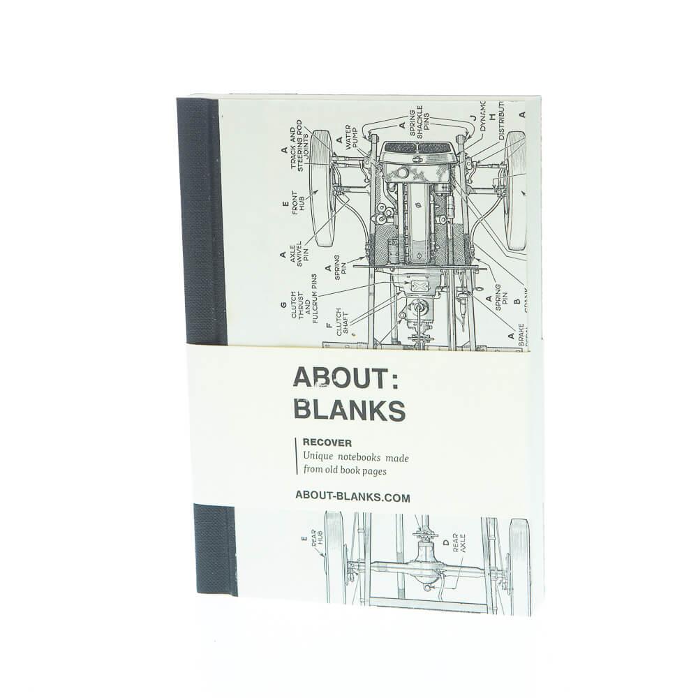 Auto notitieboek (a6)