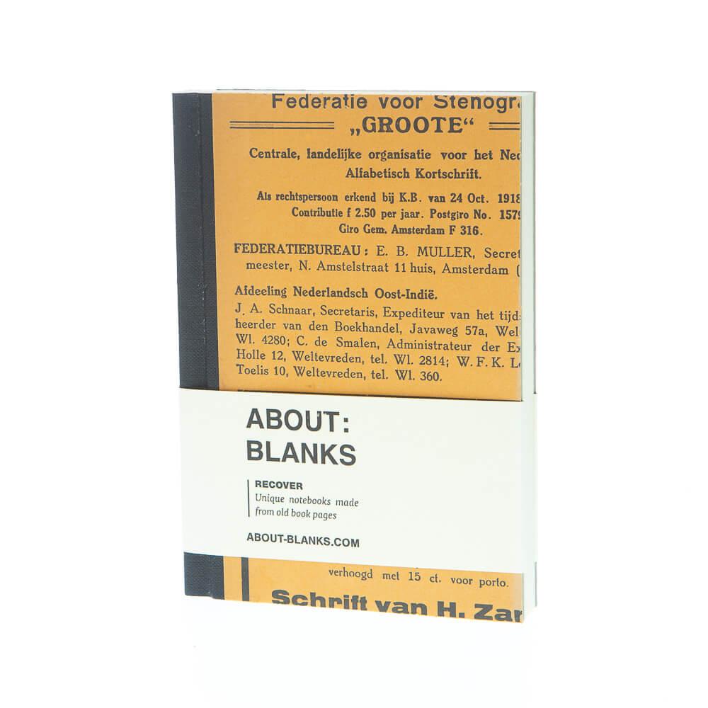 Alphabet notebook (a6)