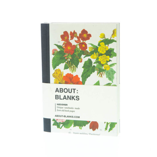 Begonia notebook (a6)