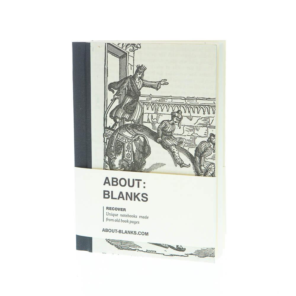 Elephant king notebook (a6)
