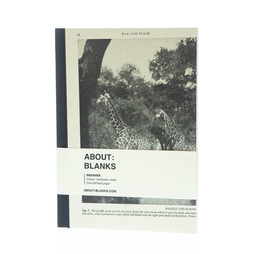 Giraf notitieboek (a5)