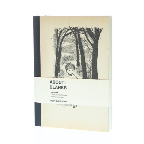 Forest kid notebook