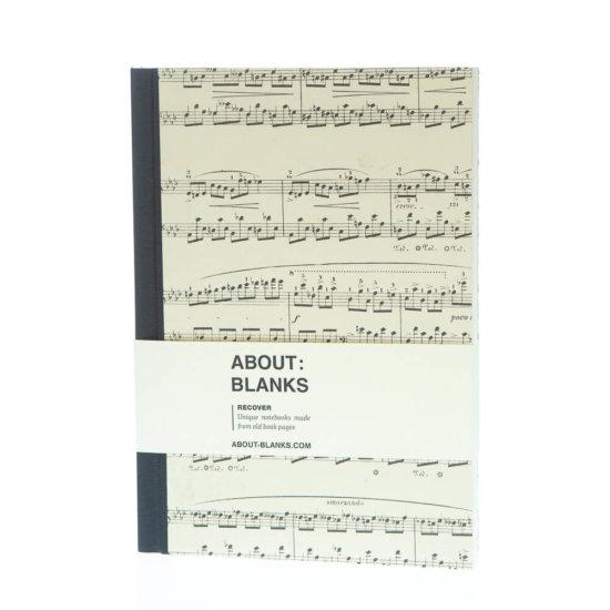 Music notebook (a5)