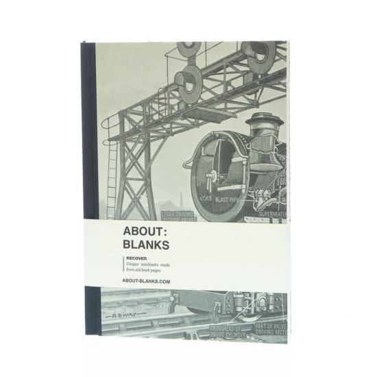 steam train notebook