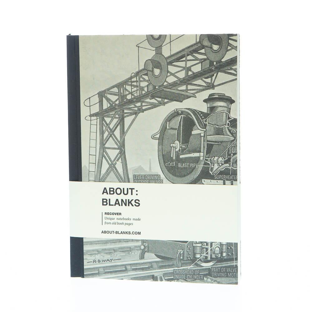 Stoom notitieboek (a5)