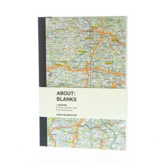 Leipzig notebook map