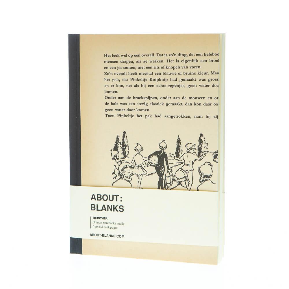 Pinkel notitieboek (a5)