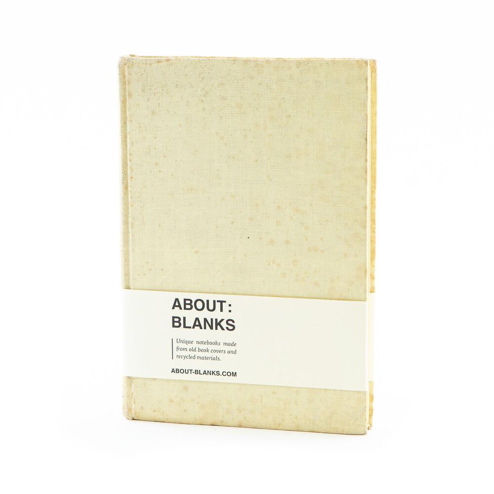 Creme notitieboek
