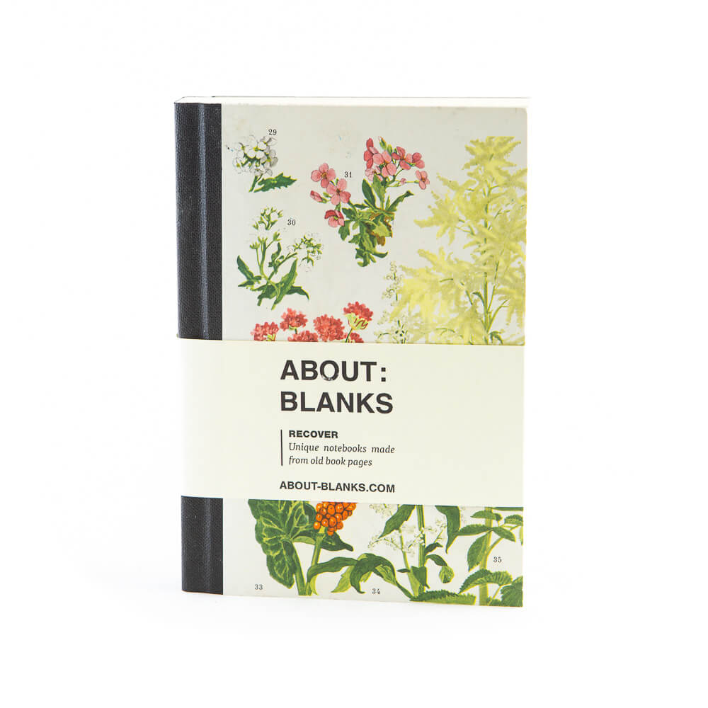 Flowers notebook (a6)