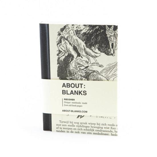 Wolf notebook (a6)