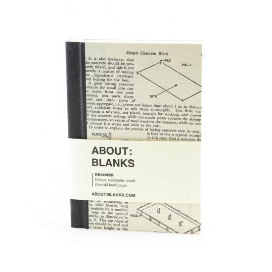 Concrete notebook (a6)