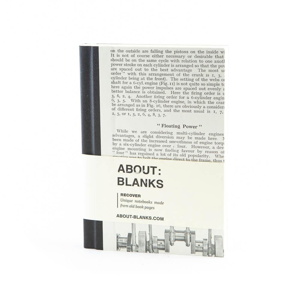Cylinder notebook (a6)