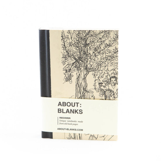 Party tree notebook (a6)