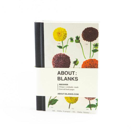 Dahlia notebook (a6)