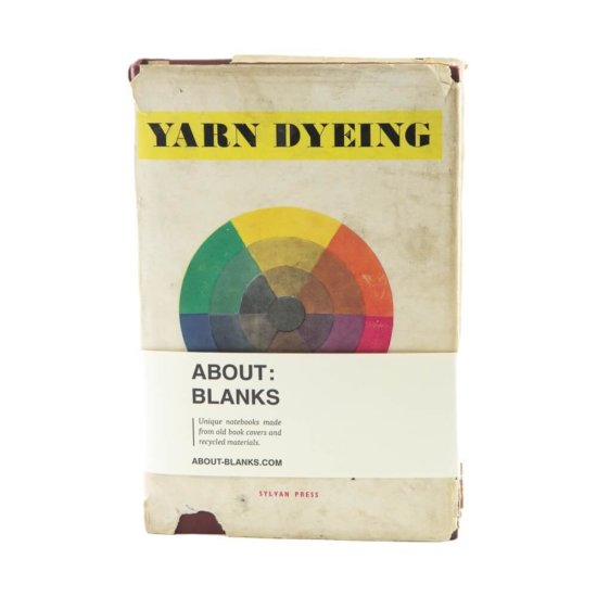 Dyeing notebook