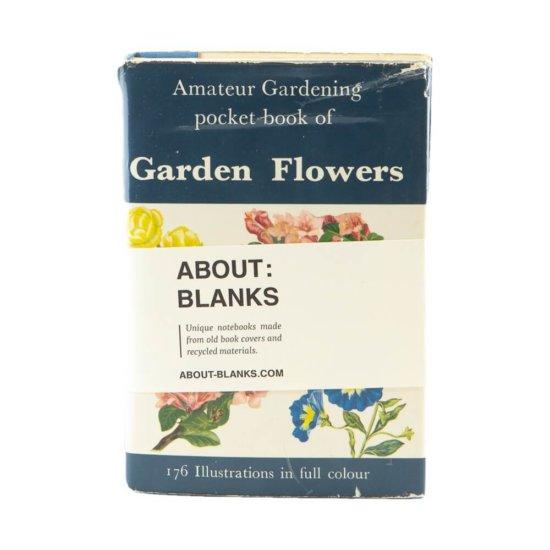 Garden flower notebook