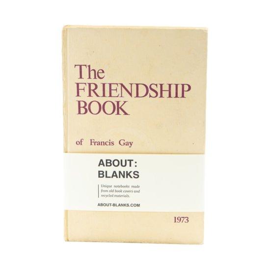 Friendship notebook