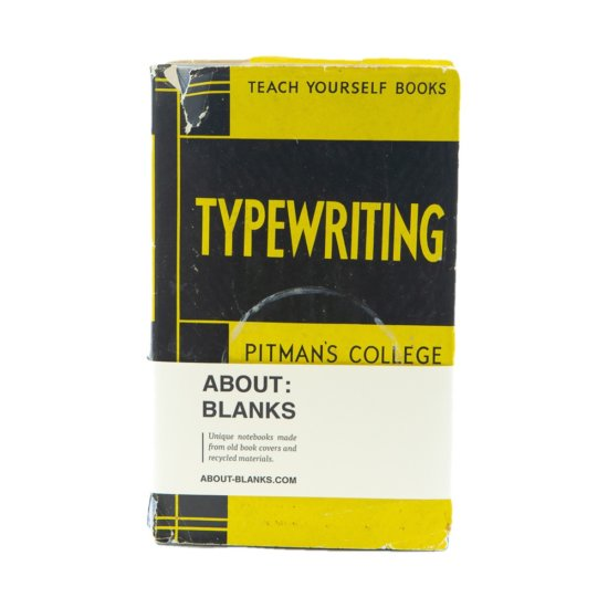 Typewriting notitieboek