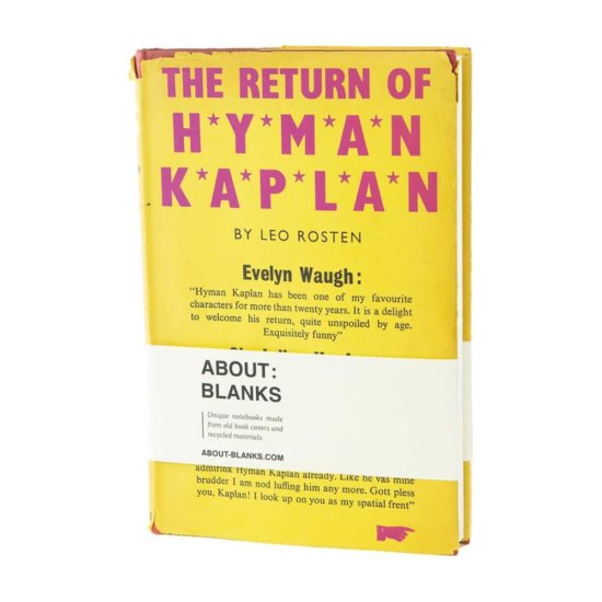 Hyman Kaplan notebook