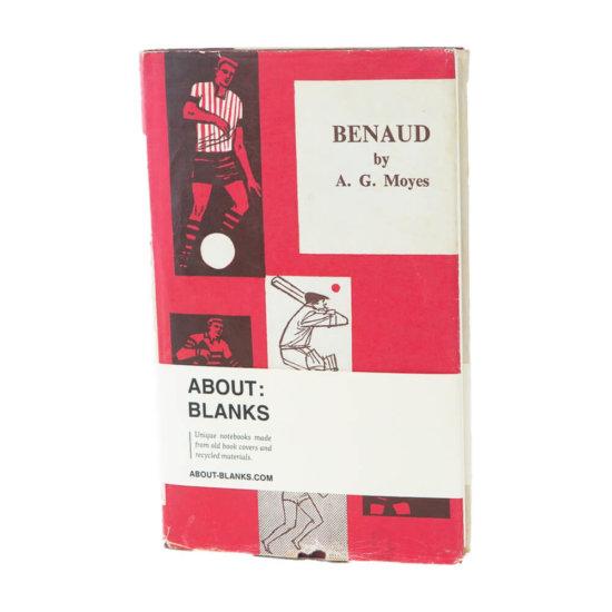Benaud notebook
