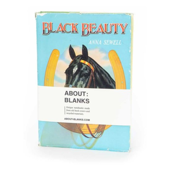 Black beauty notebook