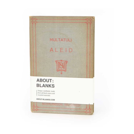 Aleid notebook about blanks