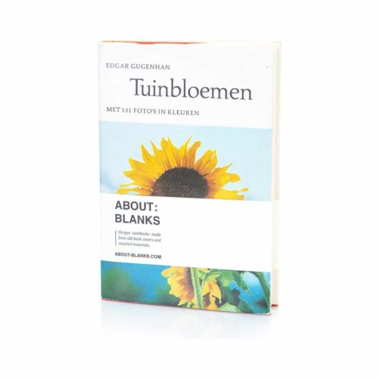 Tuinbloemen notebook