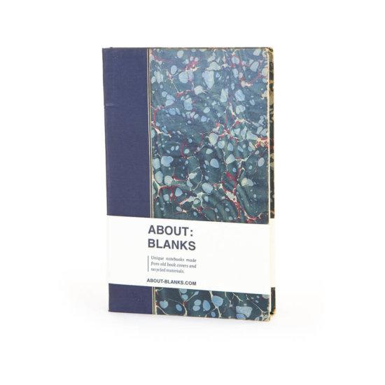 Blue marmer notebook