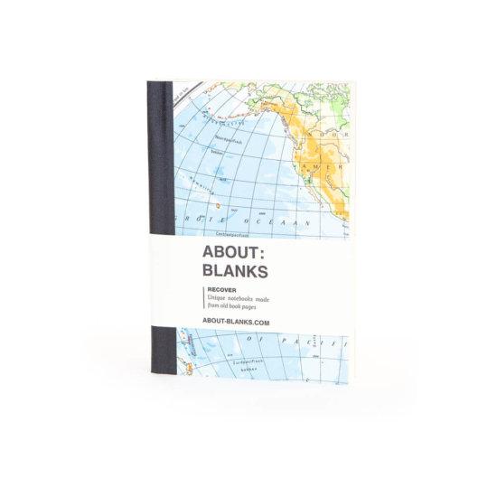 Globe notebook
