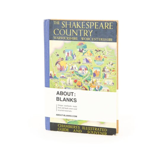 Shakespeare land notebook