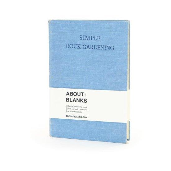 Rock gardening notebook
