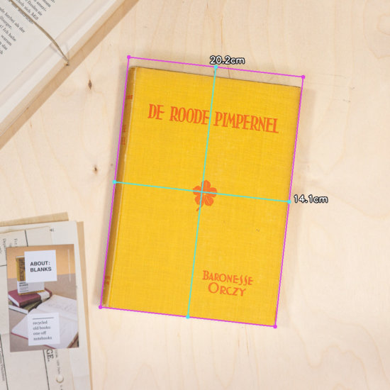 Pimpernel notebook dimensions