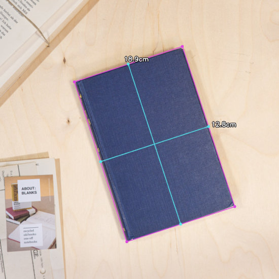 Indigo notebook dimensions