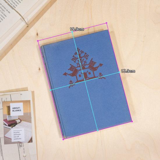 Singing tree notebook dimensions