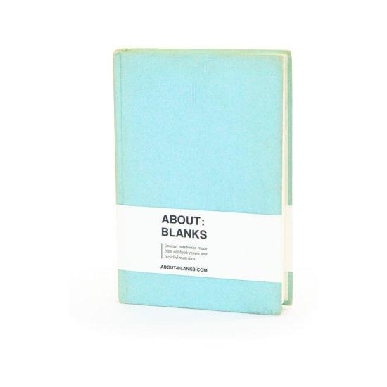 Aqua notebook