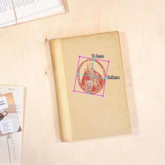 Portait notebook dimensions