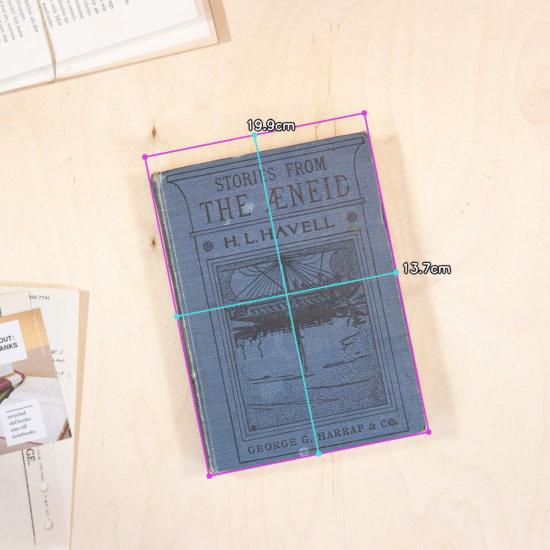 Aeneid notebook dimensions