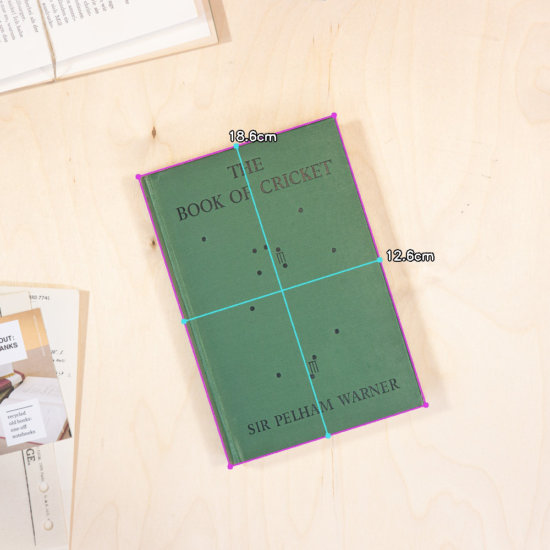 Cricket notebook dimensions
