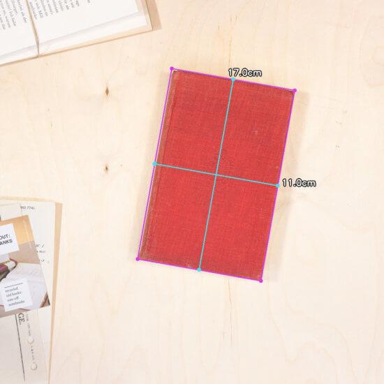 Tales sketchbook dimensions