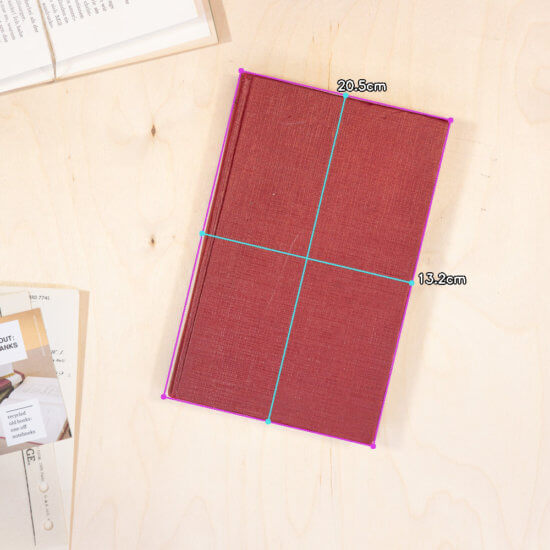 Twist notebook dimensions