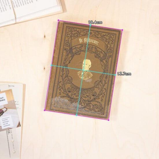 Bijlhouwer notebook dimensions