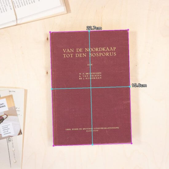 North cape notebook dimensions