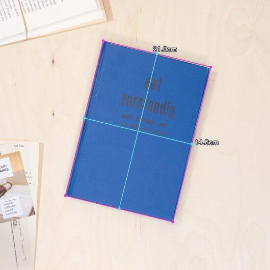 Diet notebook dimensions